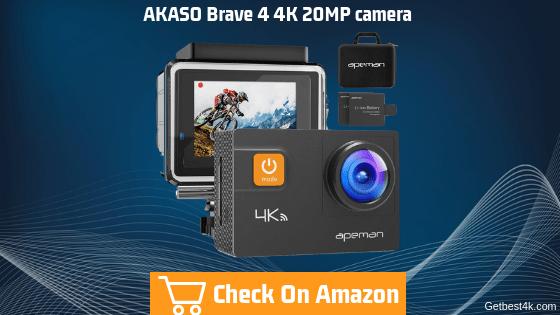 APEMAN Action Camera 4K