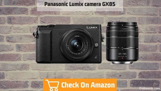 Panasonic Lumix camera GX85