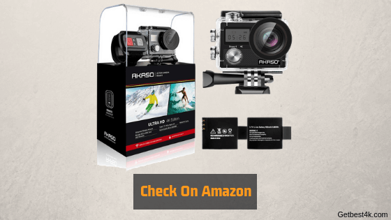 Check On Amazon 6 1 - Top 3 Akaso 4k cameras [2019]