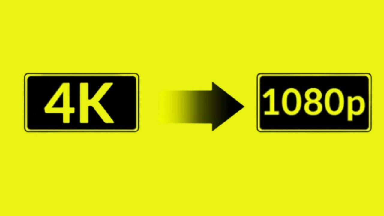 How to Downscale 4k to 1080p